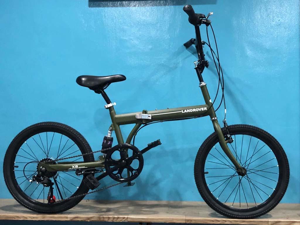 Xe đạp gấp nhỏ gọn