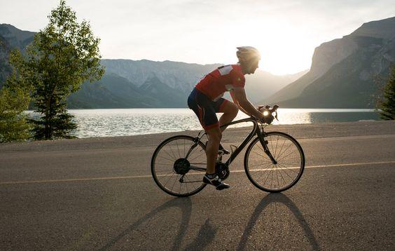 Lên kế hoạch khi đạp xe một mình
