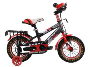 Xe đạp trẻ em 12 inch Conquer Speed Baga Tay Ngang